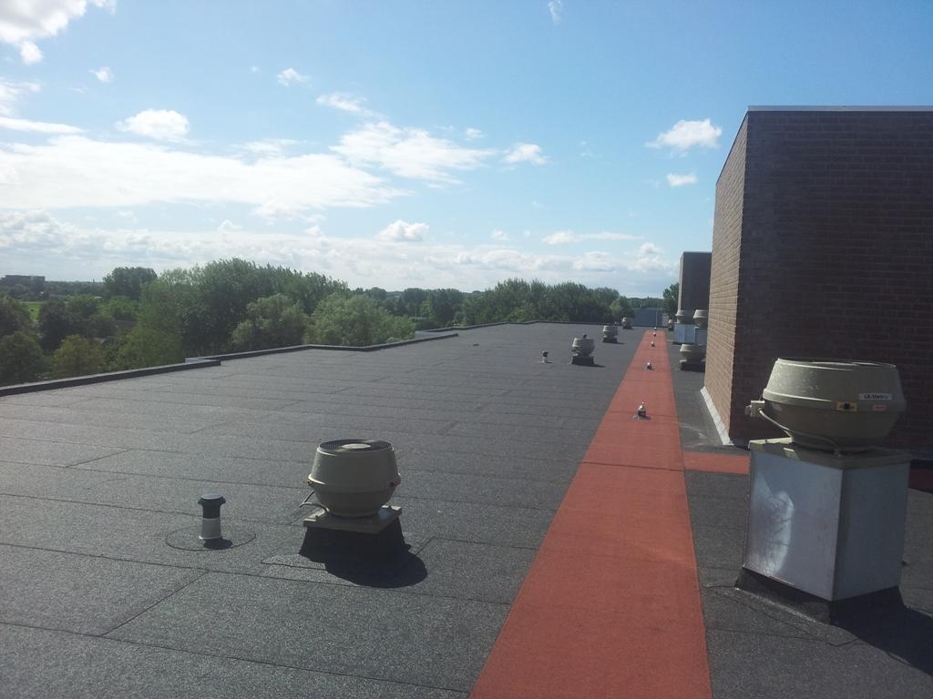 Prattenburg, Haarlem – Vervangen bitumen van flatgebouw