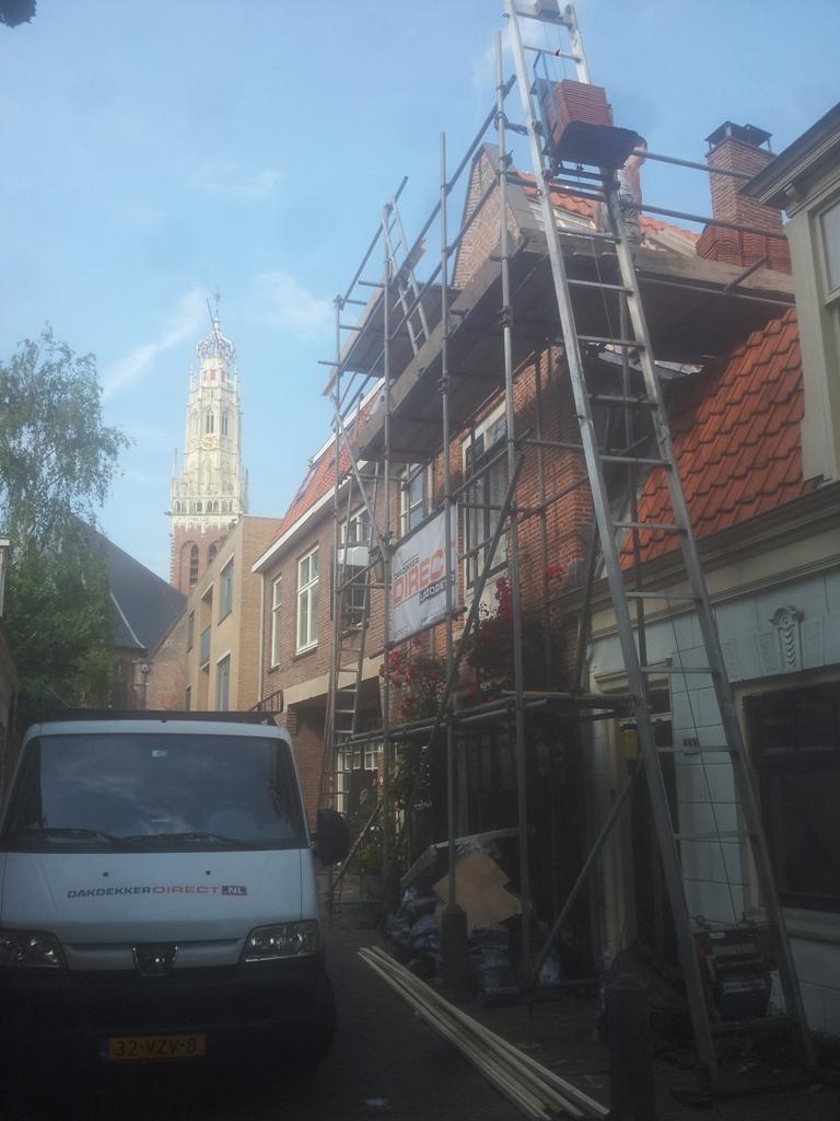 Valkestraat, Haarlem – Totale renovatie dak, inclusief isoleren